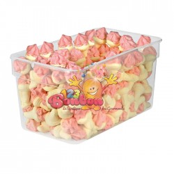 Cornets à glace guimauve