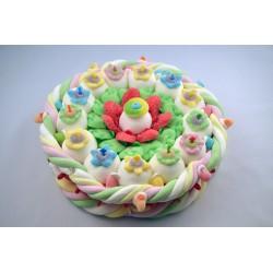 Gâteau de bonbons - Flower