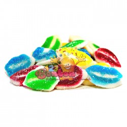 Levres Multicolores sucrées