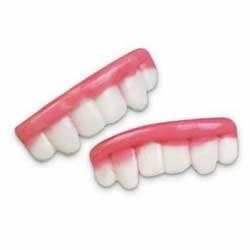 Dentiers gélifiés