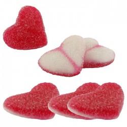 Coeurs crèmeux fraise
