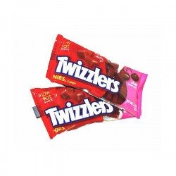 Twizzlers nibs goût Cerise