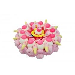Gâteau de bonbons - Princesses