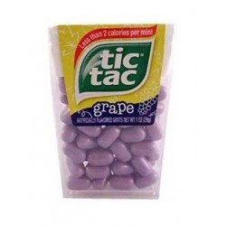 Tic Tac Grape Raisin