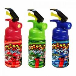 Fire pomp spray