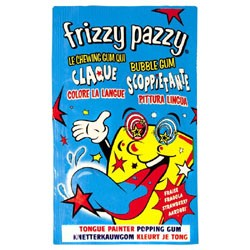 Frizzy pazzy fraise tache langue