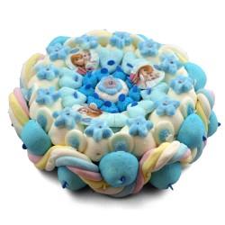 Gâteau de bonbons - reines des neiges