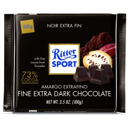 Tablette de chocolat noir extra fin Ritter Sport