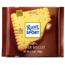 Tablette de chocolat au biscuit Ritter Sport