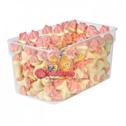 Cornets de glace guimauve