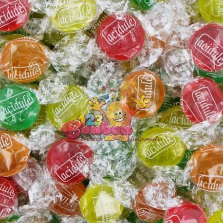 Bonbons acidulés fruits assortis