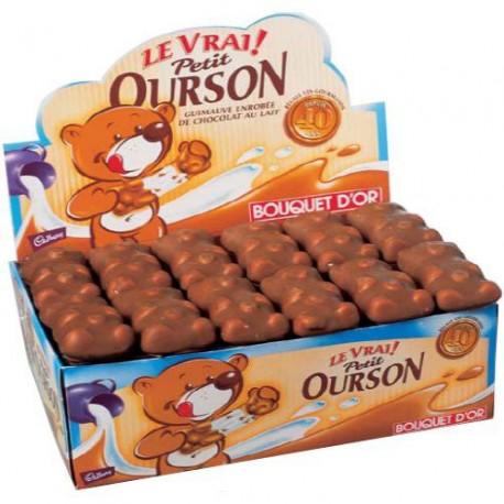 Ourson chocolat en boîte de 48