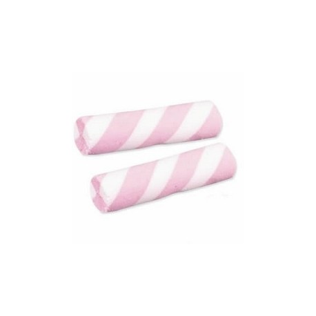 Guimauves crèmeuses rose et blanches