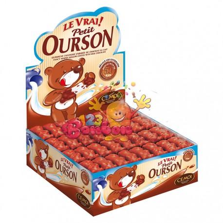 Ourson chocolat en boîte de 160