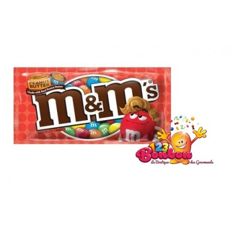 M&M's Peanut Butter - Beurre de cacahuètes