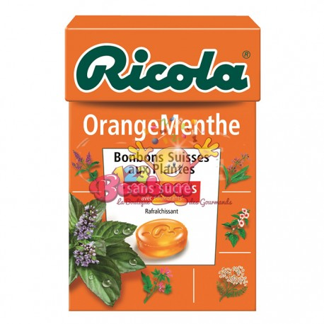 Ricola Orange Menthe