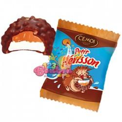 Hérisson au chocolat fourré au caramel emballé - 11 g
