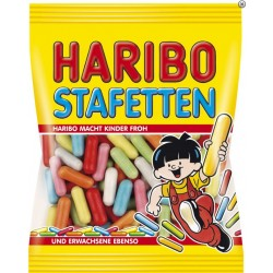 Dragées Réglisse Stafetten Haribo 200 g
