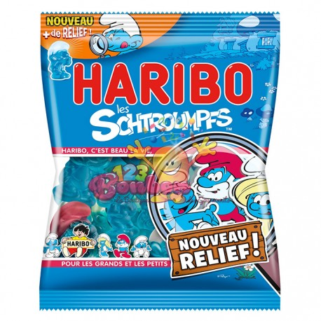 Schtroumpfs Haribo sachet