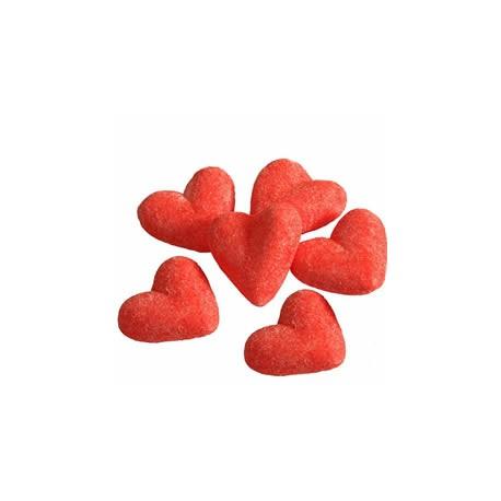 Coeurs aérés fraise