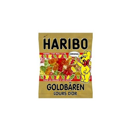 Ours d'or sachet Haribo