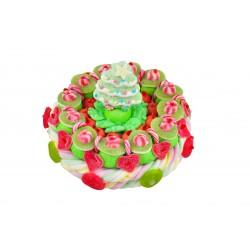 Gateau de bonbon Noël - Sapin vert