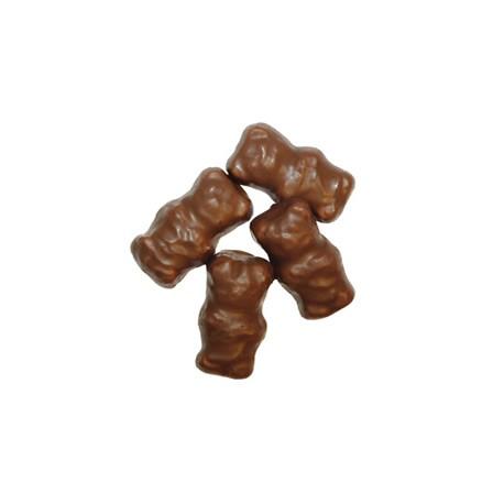 Ourson de guimauve au chocolat au lait