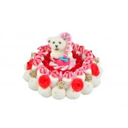 gateau-de-bonbon-noel-ours-blanc
