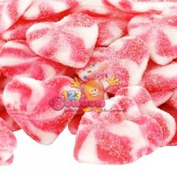 Coeur twist fraise