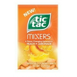 Tic Tac Mixers Pêche Limonade 29 g - DLUO 31/05/18