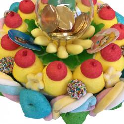 Gâteau de bonbons - Mario Bros