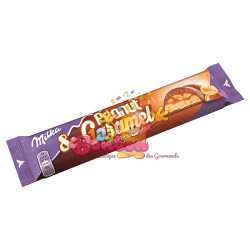 Barre Chocolatée Milka Peanut & Caramel