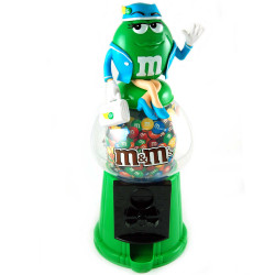 "Distributeur M&M's XXL choco "" Green"""