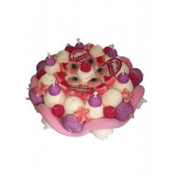 Gâteau de bonbons «Maman qui déchire»