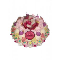 Gâteau de bonbons «Super Marraine»