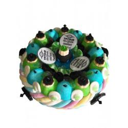 Gâteau de bonbons «Papa tatoué»