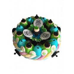 Gâteau de bonbons «Papa motard»