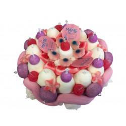 Gâteau de bonbons «Super Mamie»