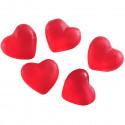 Minis coeurs gélifiés