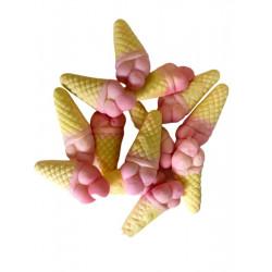 Cornet de glace bonbon