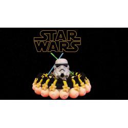 Gâteau de bonbons - star wars