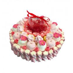 """Gâteau de bonbons - """"Love Me Tender"""""""