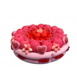 Gâteau de bonbons - Love