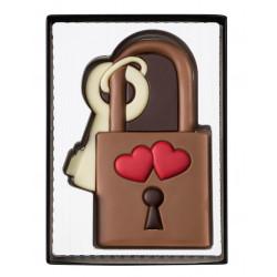 Cadenas d'amour en chocolat 80 g