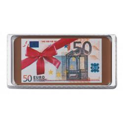 Billet euros en chocolat 40g