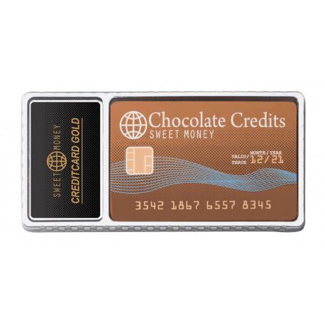 Carte de crédit en chocolat 25g