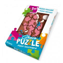 Puzzle en chocolat 76g