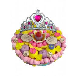 """Gâteau de bonbons - """"Je suis une princesse..."""""""