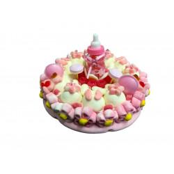 Gâteaux de bonbons * Naissance - Fille *