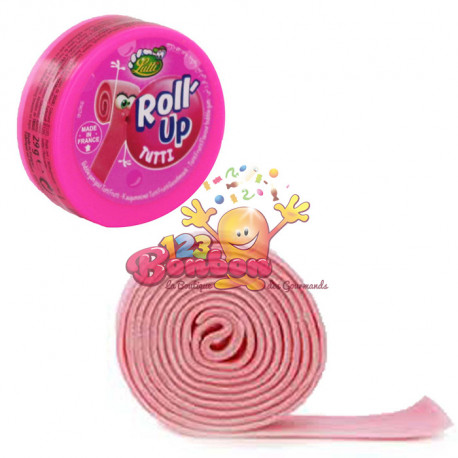 Chewing gum Roll up Tutti Fruti
